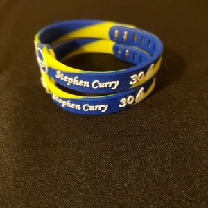 Other - NBA Stephen Curry Silicone Bracelets